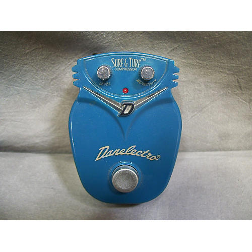 Danelectro DJ9 Surf And Turf Compressor Effect Pedal-thumbnail