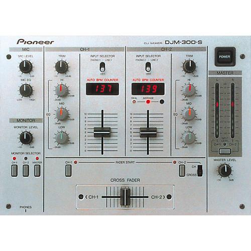 Pioneer DJM-300 BPM DJ Mixer-thumbnail