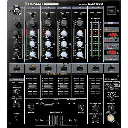 Pioneer DJM-500 Pro DJ Mixer-thumbnail