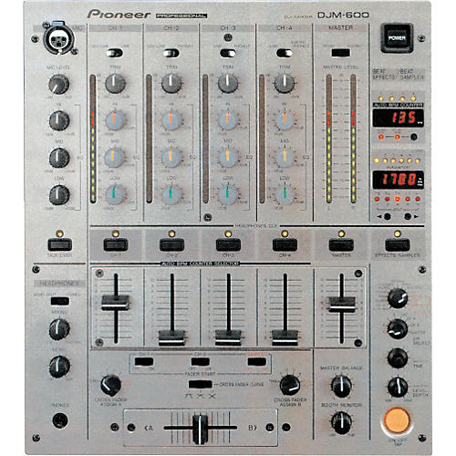 Pioneer DJM-600 Pro DJ Mixer-thumbnail