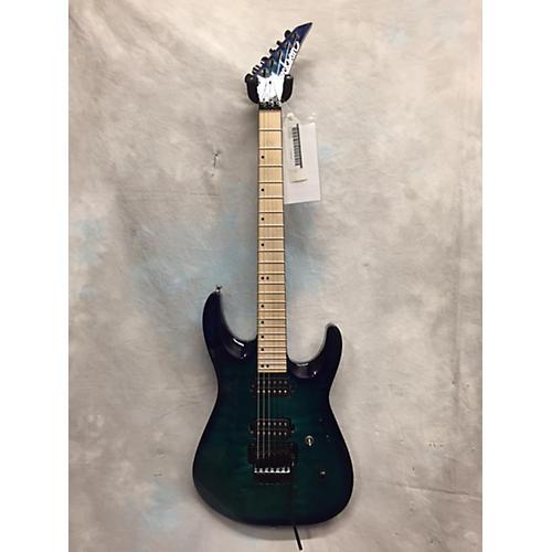 Jackson DK2QM Solid Body Electric Guitar Trans Blue