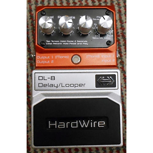 Digitech DL8 Hardwire Delay Looper Effect Pedal-thumbnail