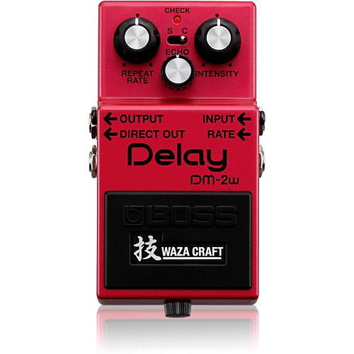 Boss DM-2W Delay Waza Craft Guitar Effects Pedal-thumbnail