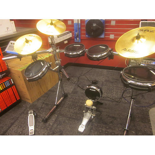 used alesis dm10 pro electronic drum set guitar center. Black Bedroom Furniture Sets. Home Design Ideas