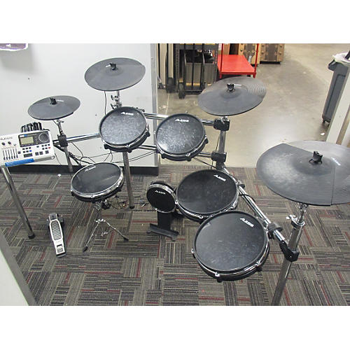 used alesis dm10 studio electric drum set guitar center. Black Bedroom Furniture Sets. Home Design Ideas