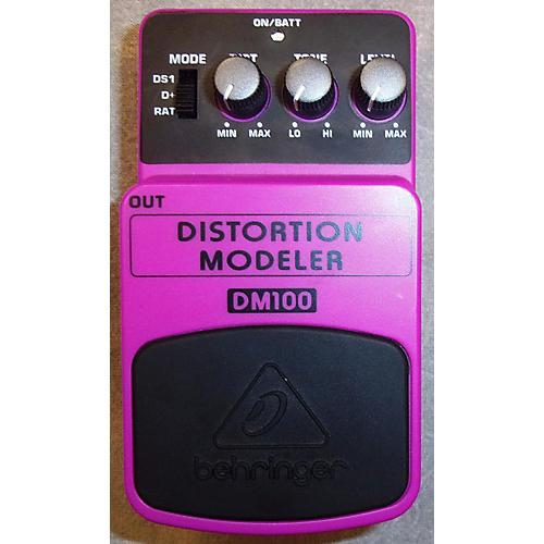 Behringer DM100 Distortion Modeler Effect Pedal-thumbnail