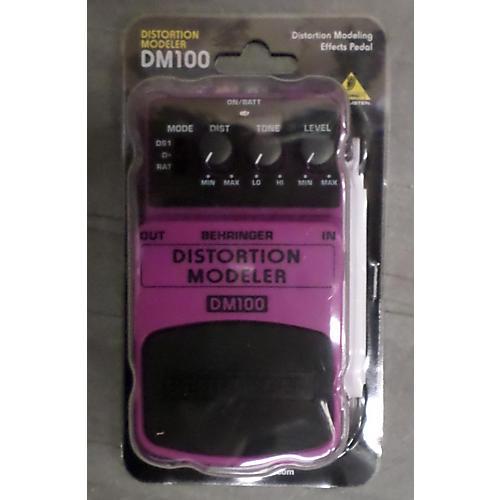 Behringer DM100 Distortion Modeler Effect Pedal