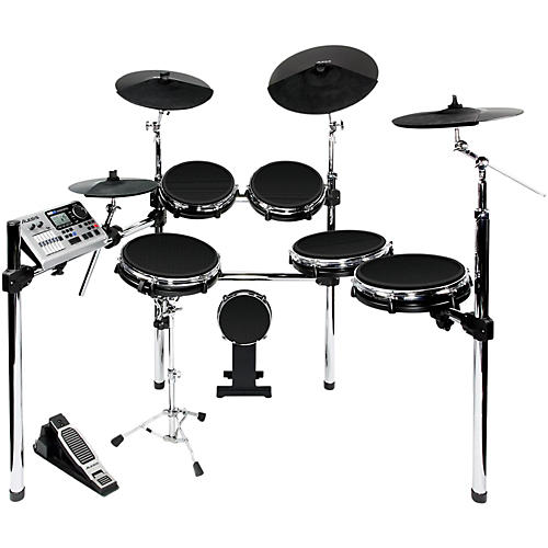 alesis dm10x electronic drum kit with mesh heads guitar center. Black Bedroom Furniture Sets. Home Design Ideas