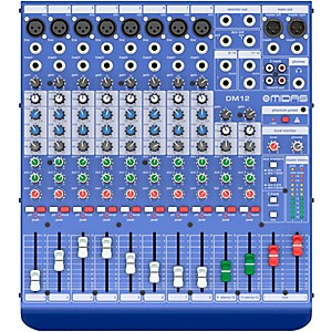 Midas DM12 12-channel Analog Mixer by Midas
