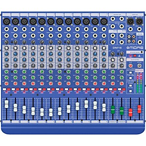Midas DM16 16-channel Analog Mixer by Midas