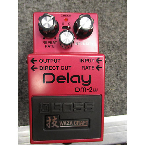 Boss DM2W Delay Waza Craft Effect Pedal-thumbnail