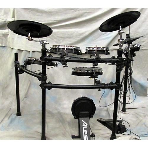 used alesis dm8 pro electronic drum set guitar center. Black Bedroom Furniture Sets. Home Design Ideas