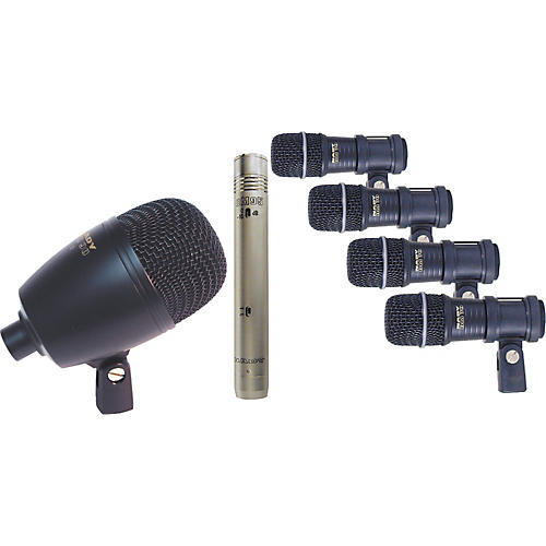 Nady DMK-9095 7-Piece Drum Mic Package-thumbnail