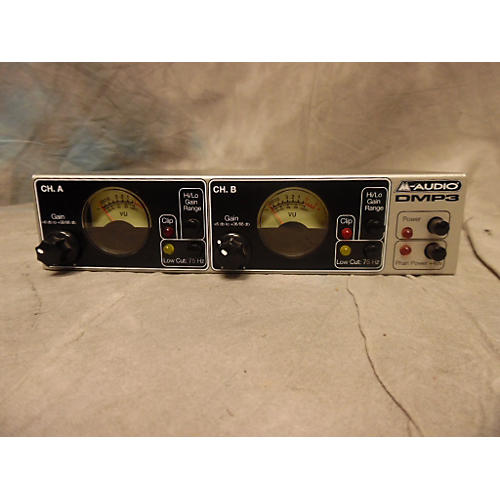 M-Audio DMP3 Black And Silver Microphone Preamp-thumbnail