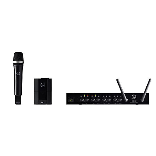 AKG DMS70 Quattro Digital Wireless Microphone Vocal/Instrument Set