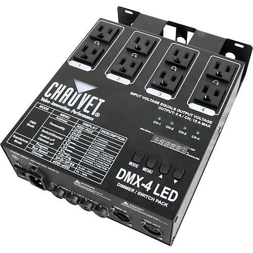 Chauvet DMX-4 LED Dimmer Switch Pack