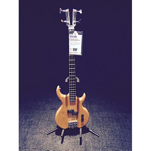 Kramer DMZ ALUMINUM NECK BASS Electric Bass Guitar Natural-thumbnail