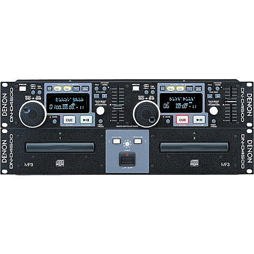 Denon DN-D4500 Dual CD/MP3 Player-thumbnail
