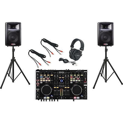 Denon DN-MC6000 / Harbinger APS12 DJ Package
