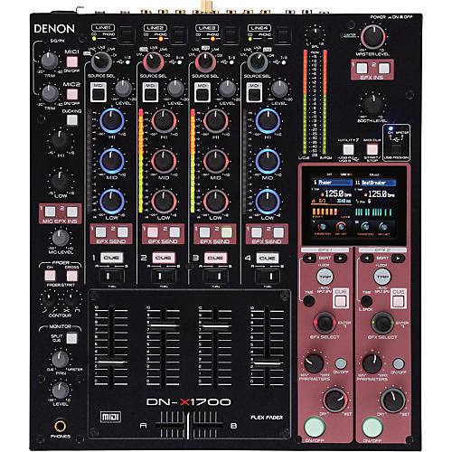 Denon DN-X1700 4-Channel Digital DJ Mixer