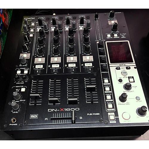 Denon DNX1600 DJ Mixer-thumbnail