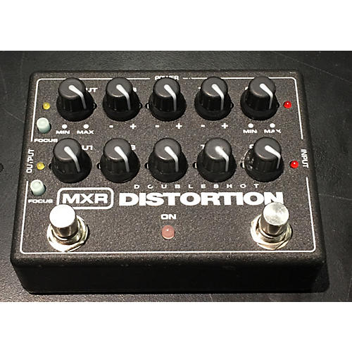 MXR DOUBLESHOT DISTORTION Effect Pedal-thumbnail