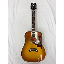 Gibson DOVE QUILTED MAPLE Acoustic Electric Guitar