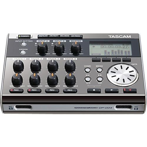Tascam DP-004 Portable 4-track Digital Multi-track Recorder Ltd Edition-thumbnail
