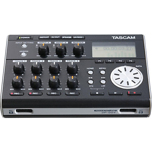 Tascam DP-004 Portable Multitrack Recorder New Open Box