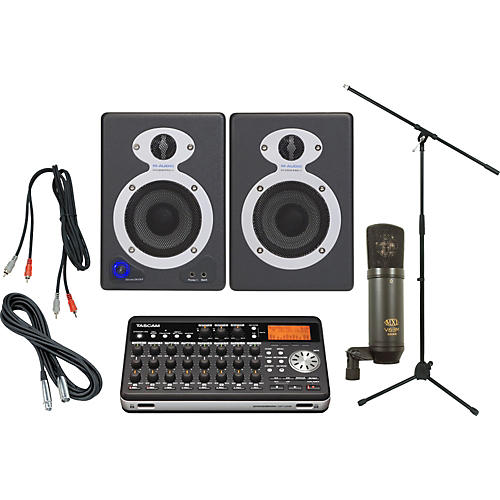 TASCAM DP-008 Recording Package