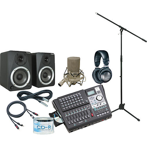 Tascam DP-01FX/CD All-In-One Recording Package-thumbnail
