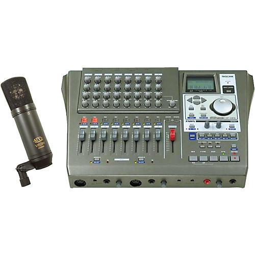 Tascam DP-01FX and V63M Bundle