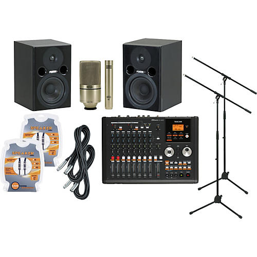Tascam DP-02CF Recording Package