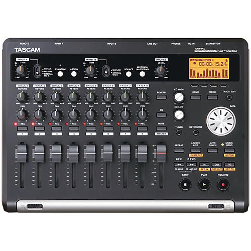 Tascam DP-03SD 8-Channel Portastudio-thumbnail