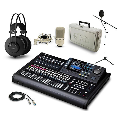Tascam DP-32SD, K52 and 990 Package