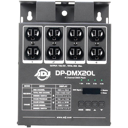 American DJ DP-DMX-20L DMX Dimmer Pack-thumbnail