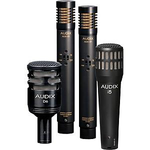 Audix DP-QUAD 4-Piece Drum Microphone Pack by Audix