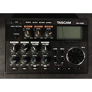 Pre-owned Tascam DP006 MultiTrack Recorder by TASCAM