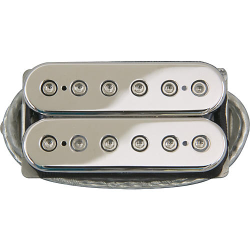 DiMarzio DP104 Super 2 Humbucker Pickup Chrome Top Regular Spaced-thumbnail