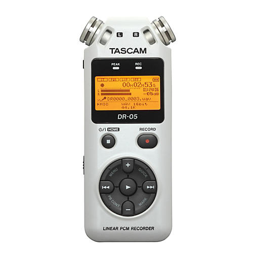 Tascam DR-05W Limited Edition Solid State Recorder White