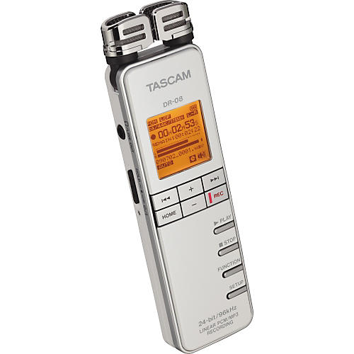 Tascam DR-08 Linear PCM/MP3 Recorder-thumbnail