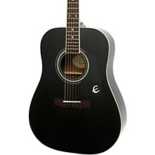 DR-100 Acoustic Guitar Black