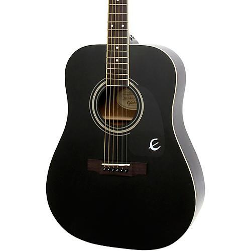 Epiphone DR-100 Acoustic Guitar Black