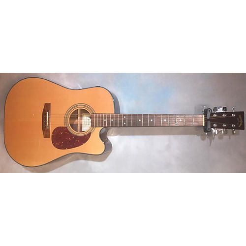 In Store Used DR-1STCE Natural Acoustic Electric Guitar