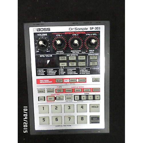 Boss DR SAMPLE SP303 Drum Machine-thumbnail