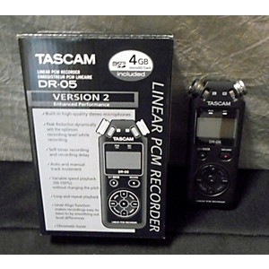 Pre-owned Tascam DR05 MultiTrack Recorder by TASCAM