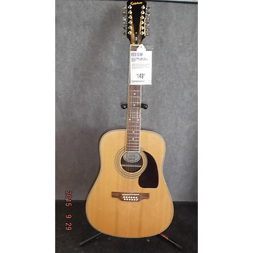 Epiphone DR212 Natural 12 String Acoustic Guitar