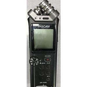 Pre-owned Tascam DR22WL HHLD LINEAR PCM RECORDER MultiTrack Recorder by TASCAM