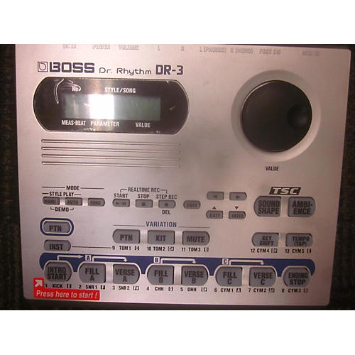 Boss DR3 Dr Rhythm Drum Machine