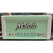 Mahalo DR40 40w Seafoam Green Tube Guitar Amp Head